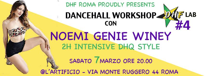 DHF Lab #4 – DHQ Style with NOEMI GENIE WINEY