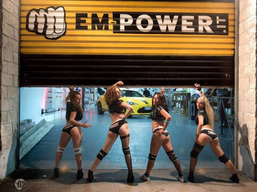 Serata EMPOWER con Twerk School-Pics & Video