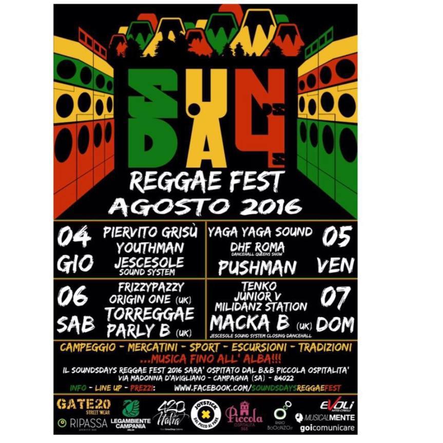 DHF Roma @SoundsDays Reggaefest Campagna(Salerno)