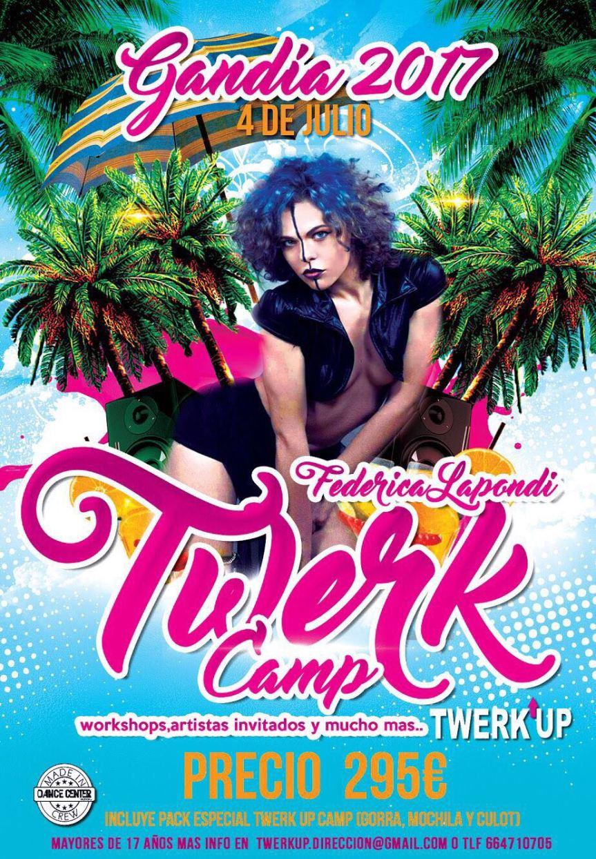 Twerk Camp 2017 Gandia(Spain)