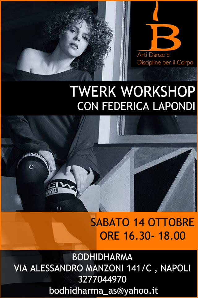 14/10 Twerk Workshop NAPOLI