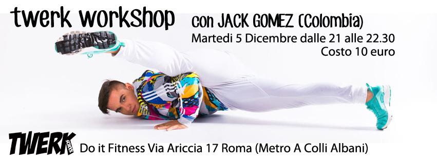 Twerk Workshop Jack Gomez(Colombia)