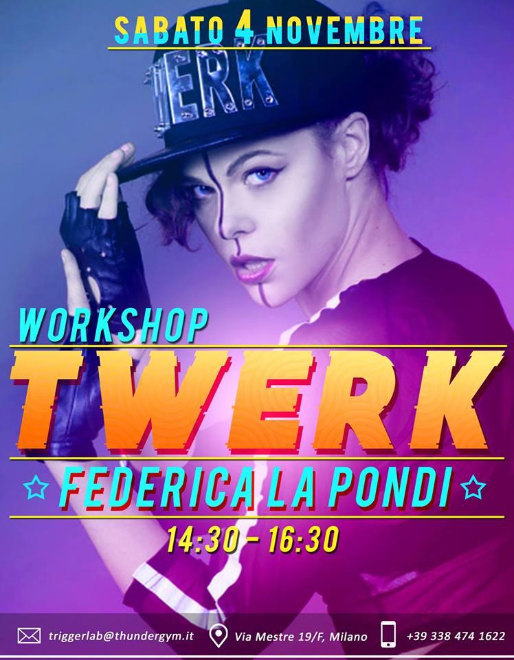 Prossimi Workshops Twerk Italia Novembre Dicembre2017