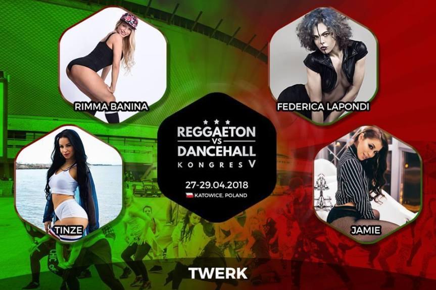 REGGAETON VS DANCEHALL KONGRES V (KATOWICE,POLONIA)