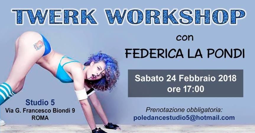 Twerk Workshop liv.Base Studio5Roma