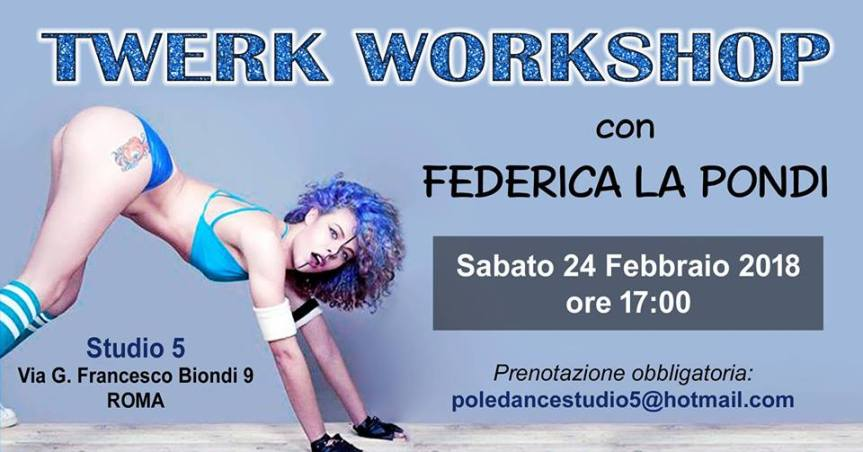 Twerk Workshop liv.Base Studio5 Roma