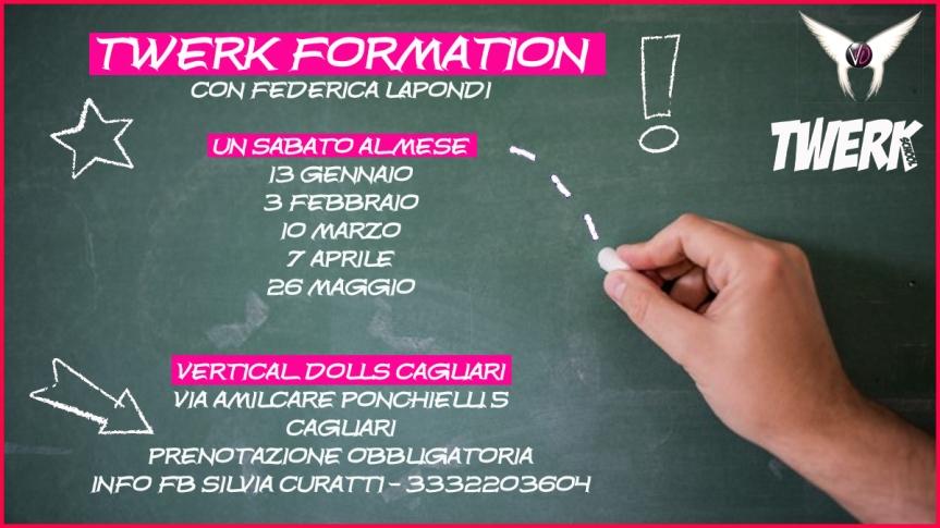 Twerk Formation Cagliari2018