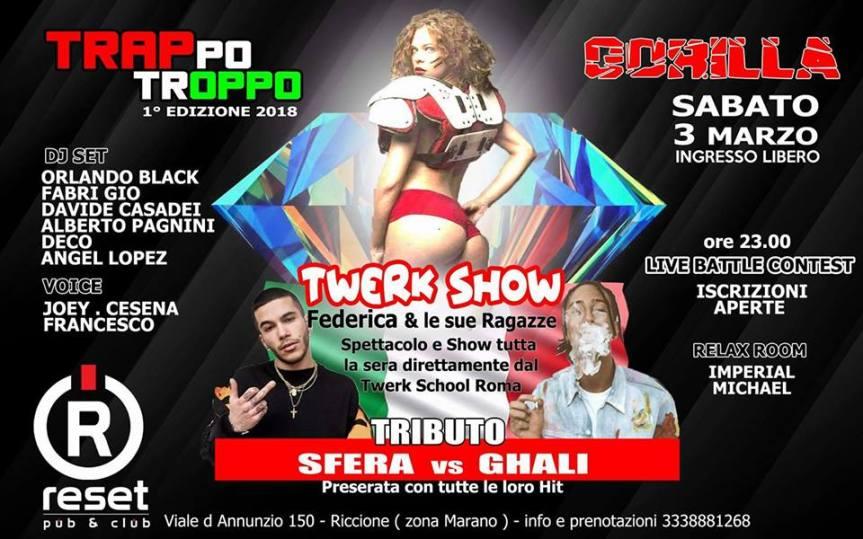 Twerk Show Reset ClubRiccione