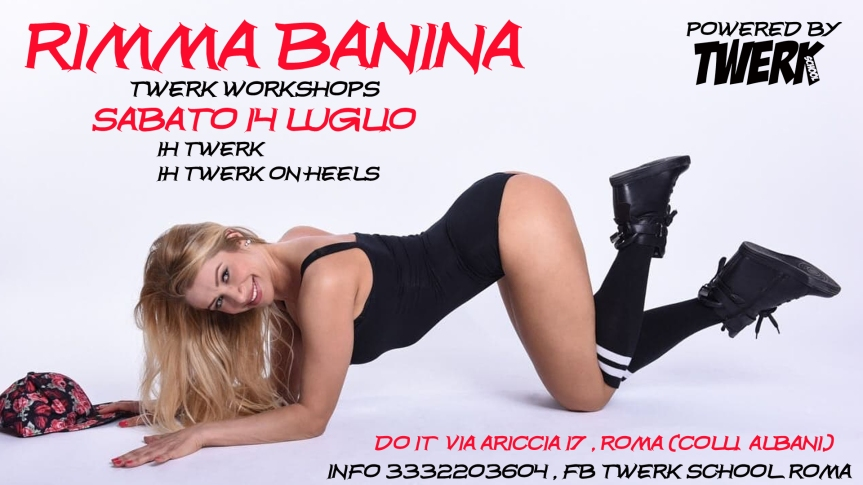 Rimma Banina Twerk Workshop Roma