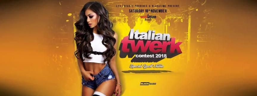Italian Twerk Contest2018