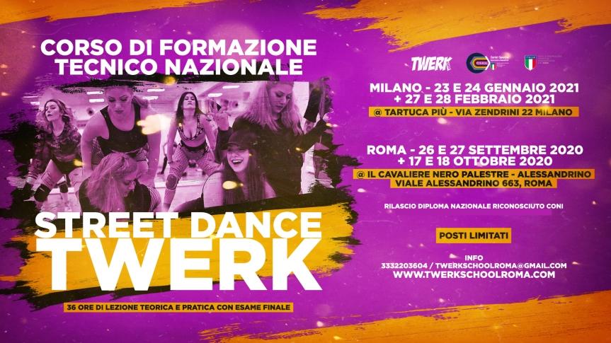 formazione twerk milano roma fb event