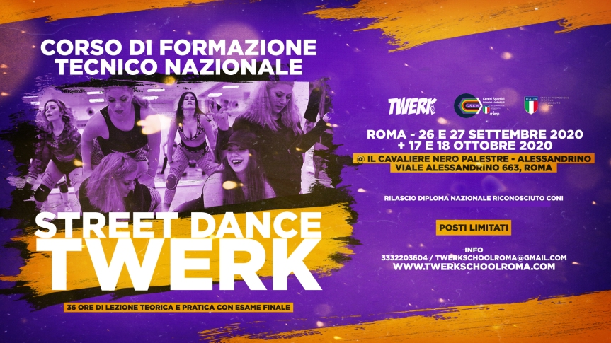 formazione twerk roma fb event