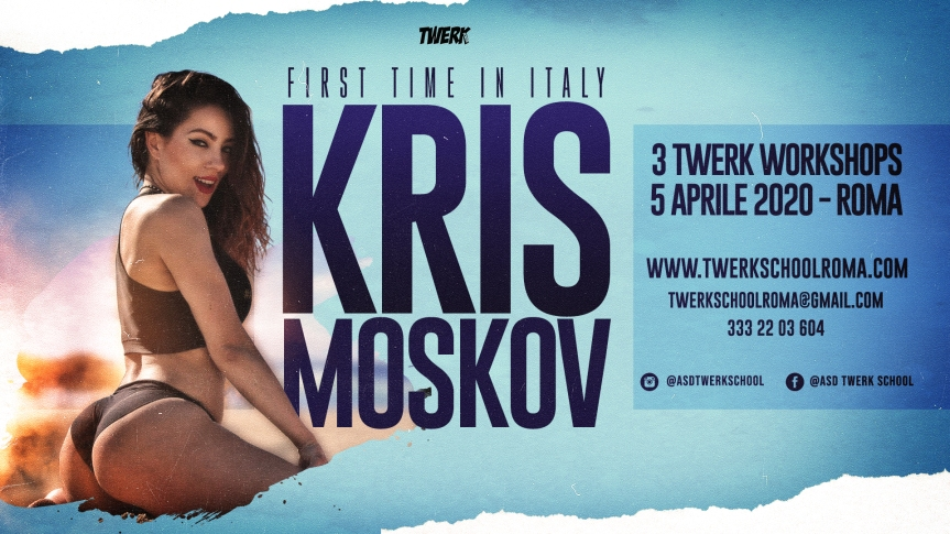 5.4.20 Kris Moskov 3 twerk classes Roma