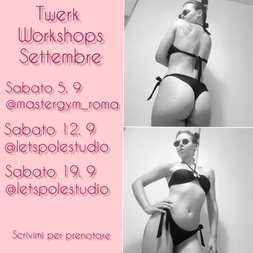 Twerk workshops Settembre 2020