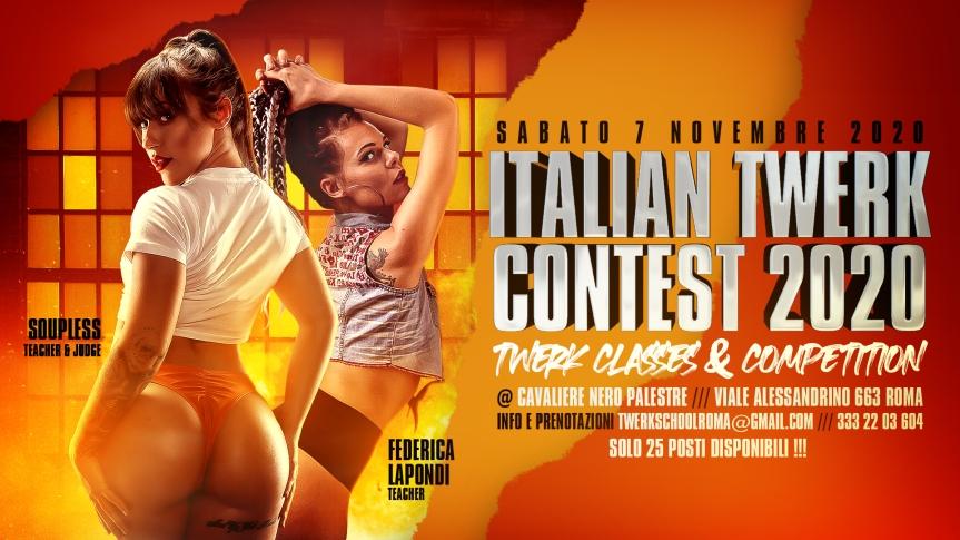 ITALIAN TWERK CONTEST2020