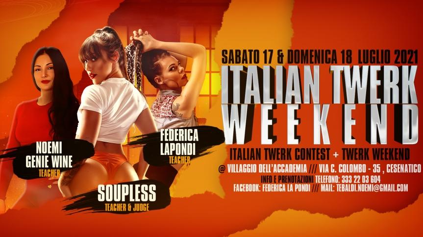 Italian Twerk Weekend2021